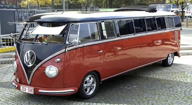 vw bus limo mods limos limousines volkswagen vw bus
