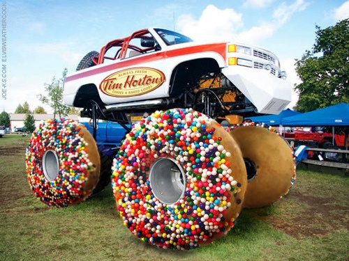 tim hortons monster truck